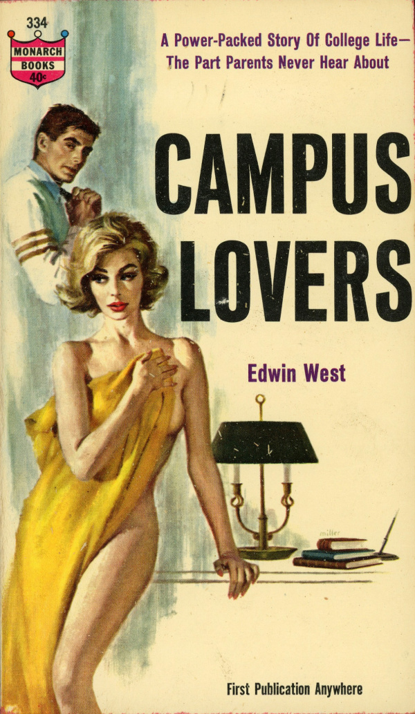 Monarch Books 334 - Edwin West - Campus Lovers