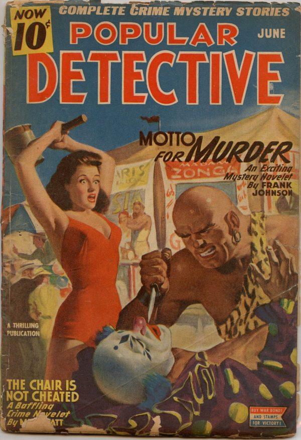 Popular Detective - June 1945