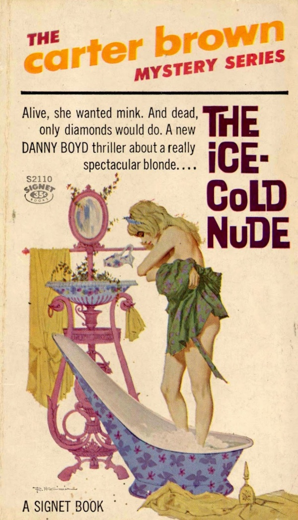 The Ice Cold Nude - illus Robert McGinnis.2