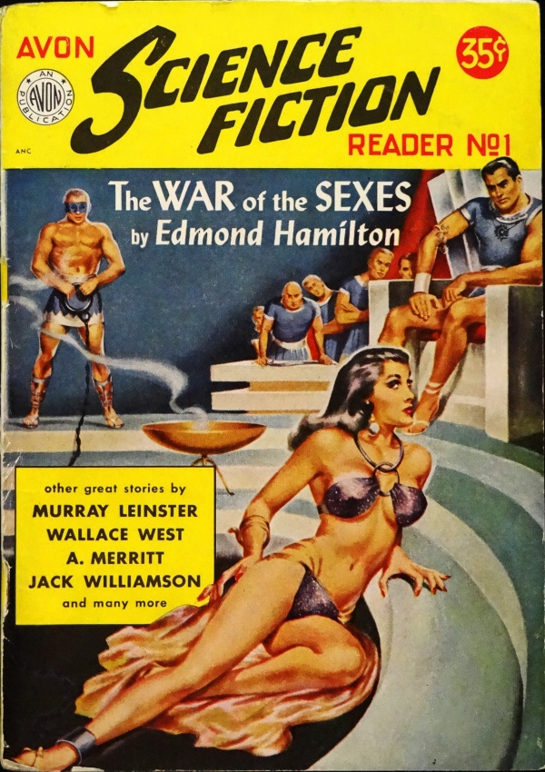 Avon Science Fiction Reader No. 1 (1951). Digest Size