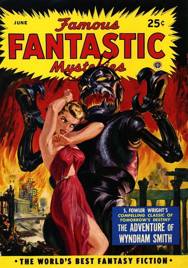 Famous Fantastic Mysteries - 1950-06