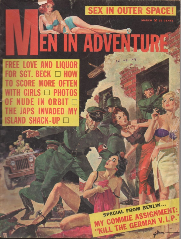 MEN IN ADVENTURE March 1962 2-1