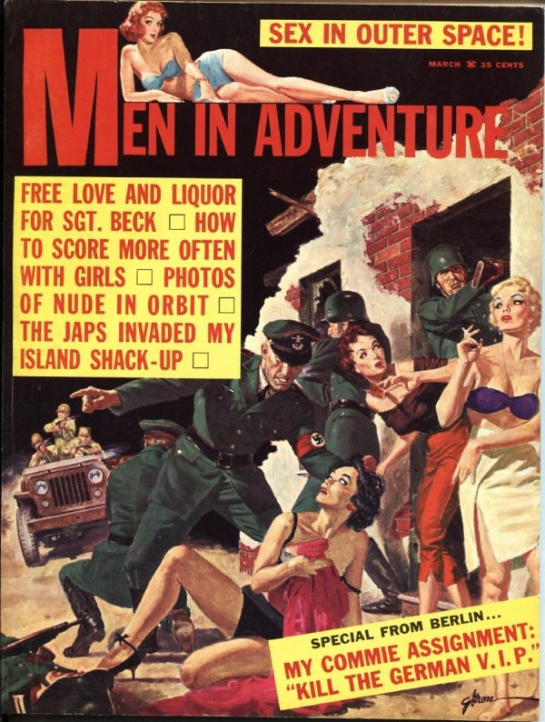 Men In Adventure March 1962