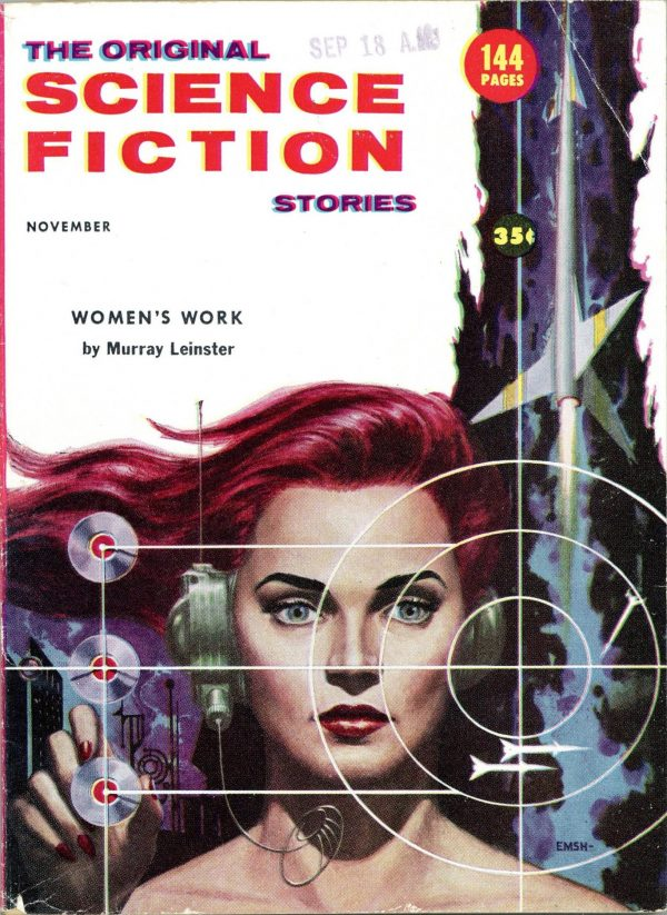 November 1956 The Original Science Fiction Stories