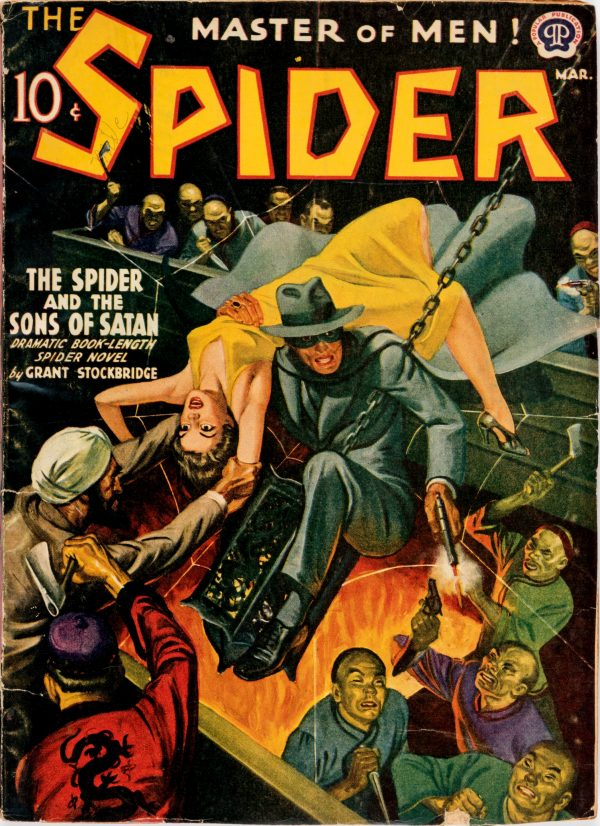 The Spider - March 1941