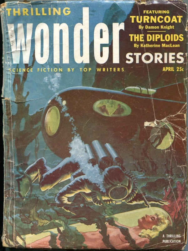 Thrilling Wonder Stories April 1953
