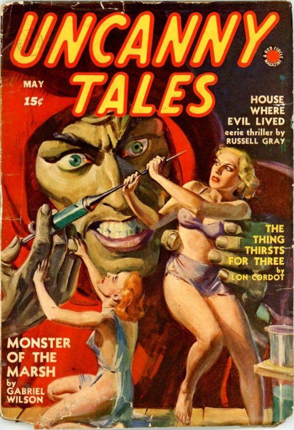 Uncanny Tales, May 1940