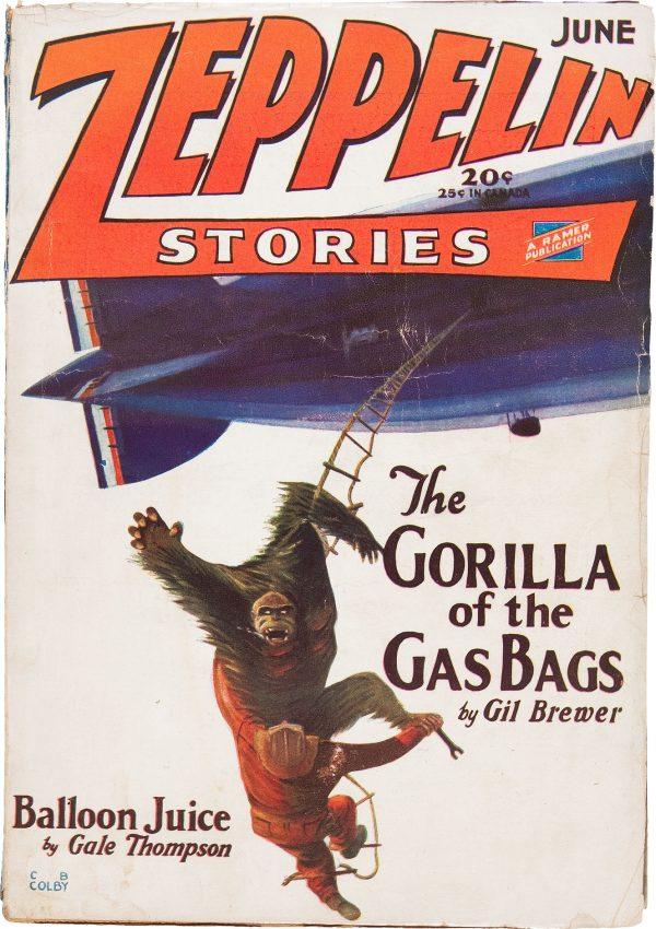 Zeppelin Stories V1#3 June 1929