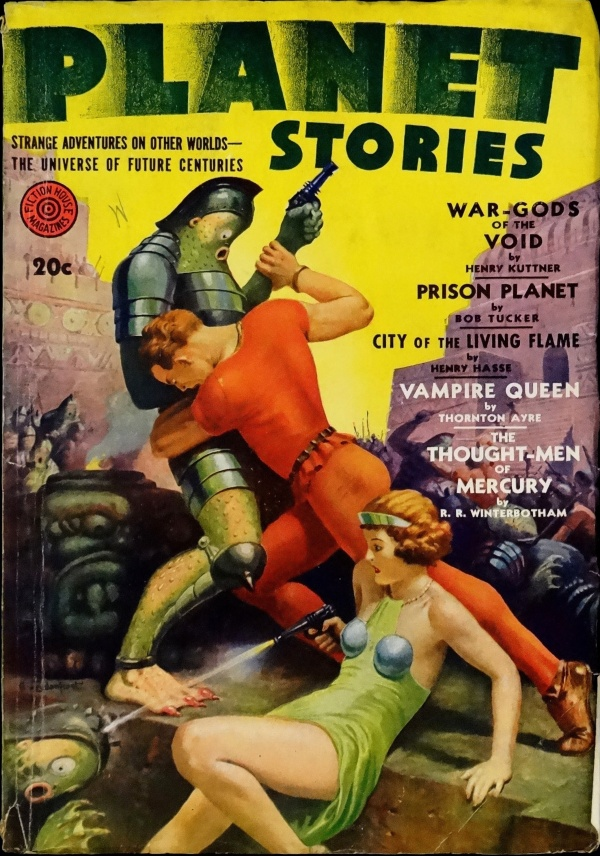 Planet Stories Vol. 1, No. 12 (Fall 1942). Cover by Alexander Leydenfrost
