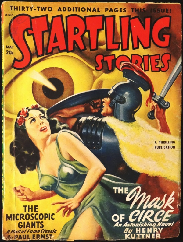 Startling Stories Vol. 17, No. 2 (May, 1948). Cover Art by Earle Bergey
