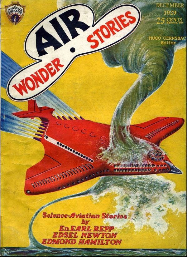 Air Wonder Stories December 1929