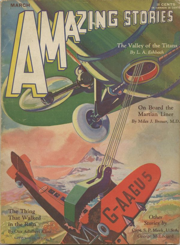 Amazing Stories March 1931