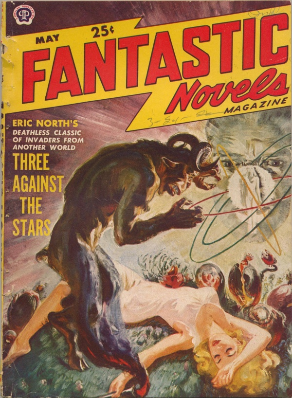 FANTASTIC NOVELS May 1950