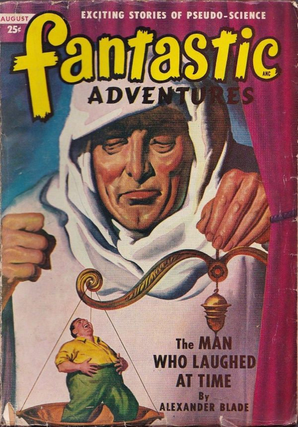Fantastic Adventures August 1949