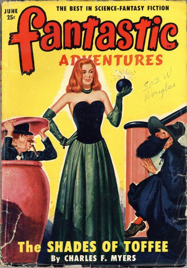 Fantastic Adventures June 1950
