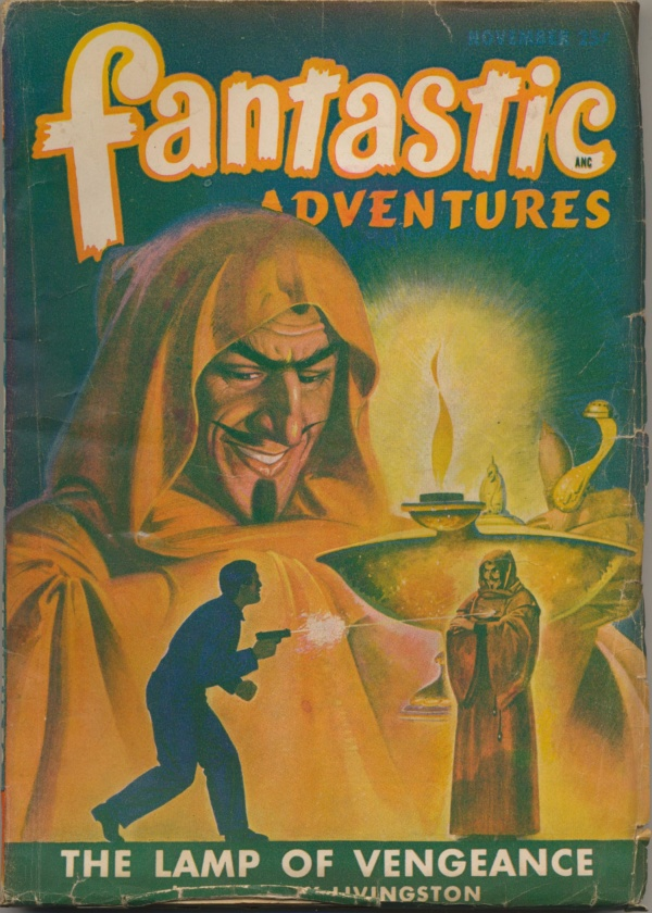 Fantastic Adventures November 1947