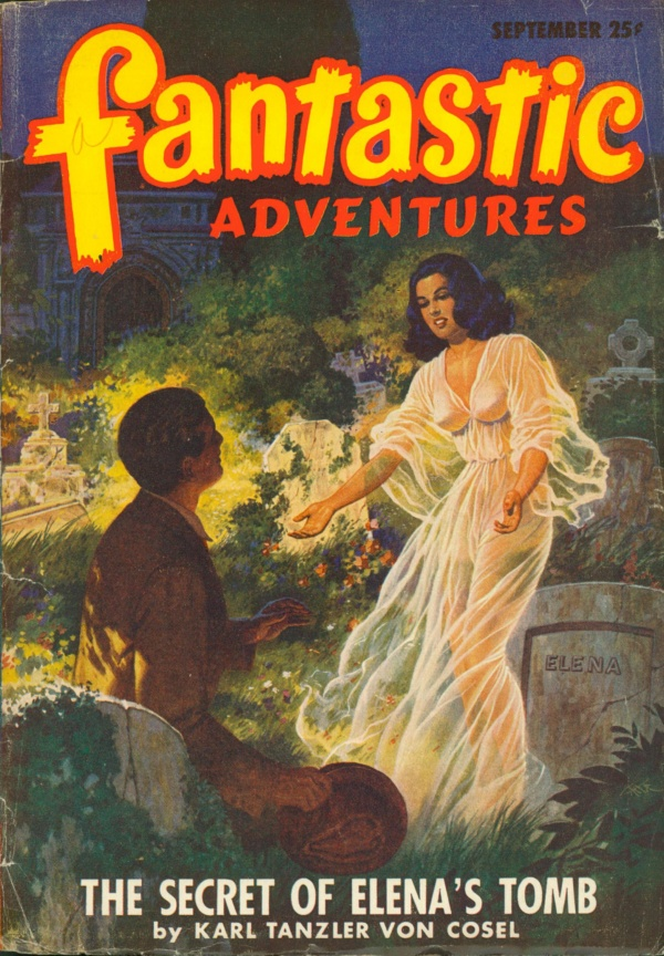 Fantastic Adventures September 1947