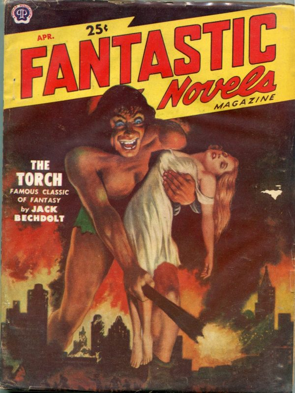 Fantastic Novels Magazine Apr 1951 Vol 4 No 6