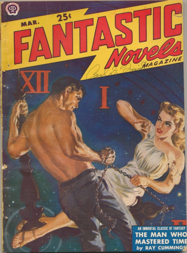 Fantastic Novels Magazine, March 1950