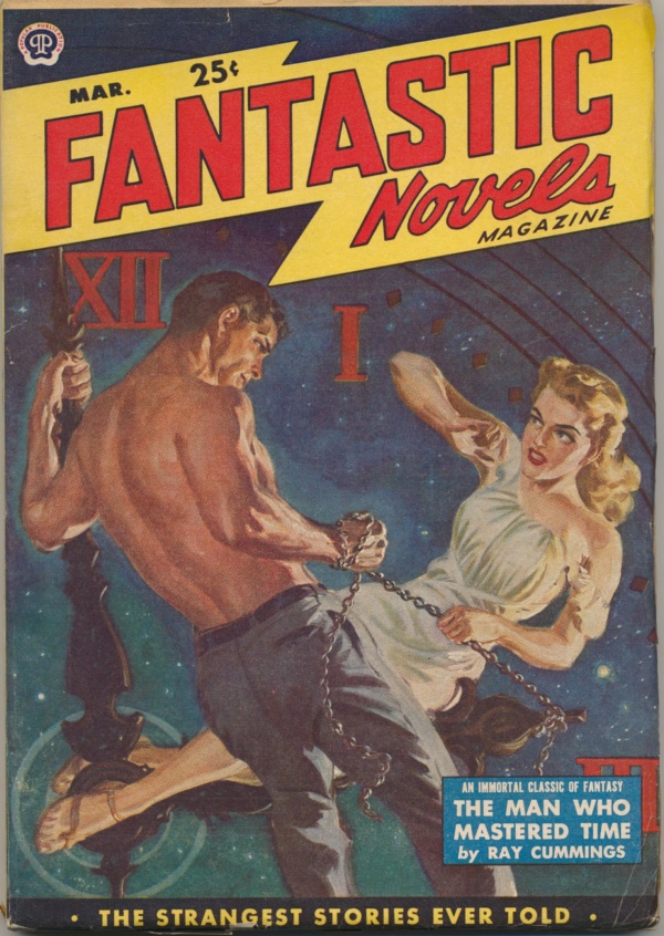 Fantastic Novels Magazine March 1950