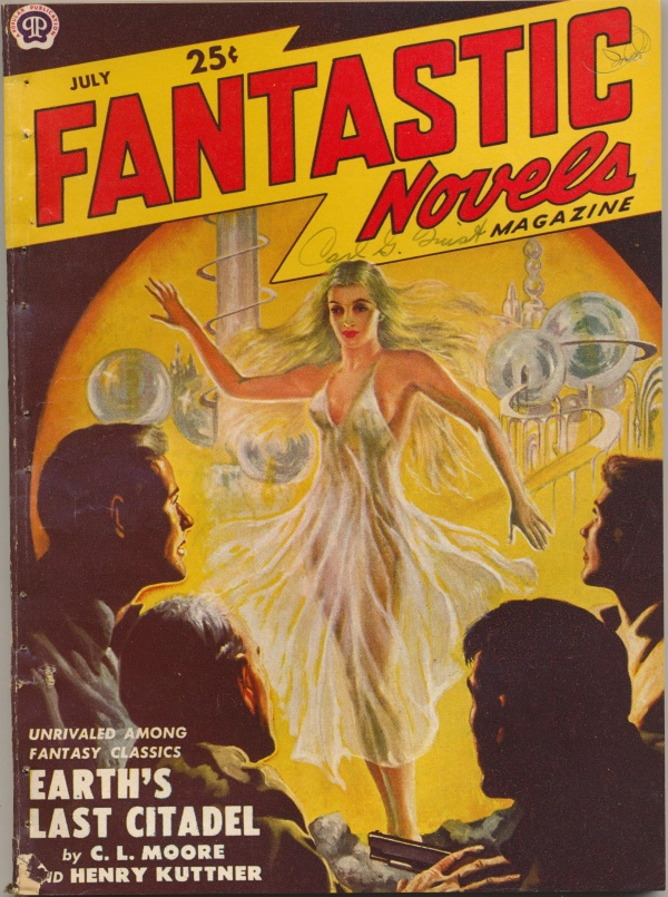 Fantastic Novels cover, July 1950