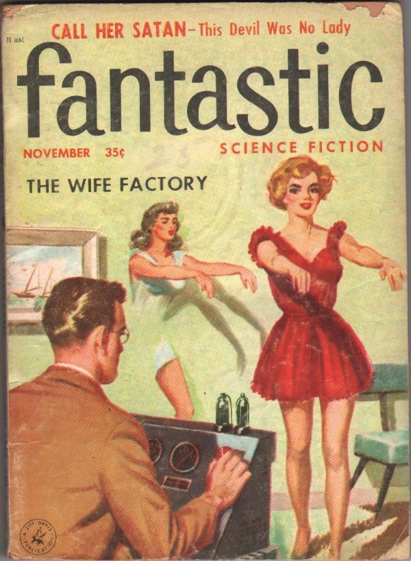 Fantastic Science Fiction November 1957