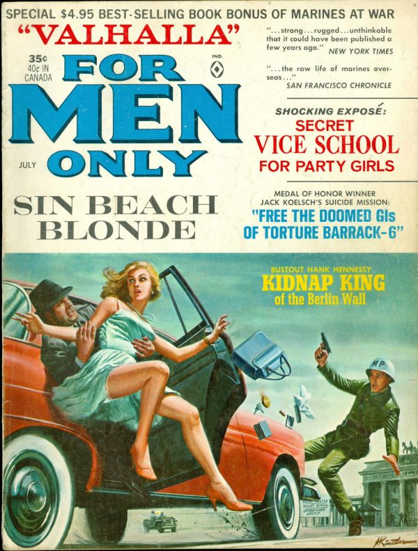 For Men Only, July 1965