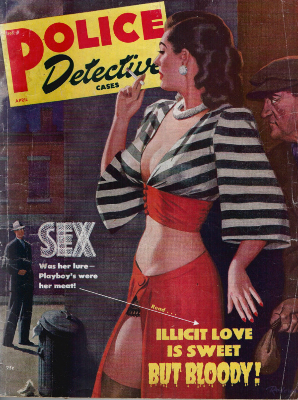 Police Detective Cases April 1949