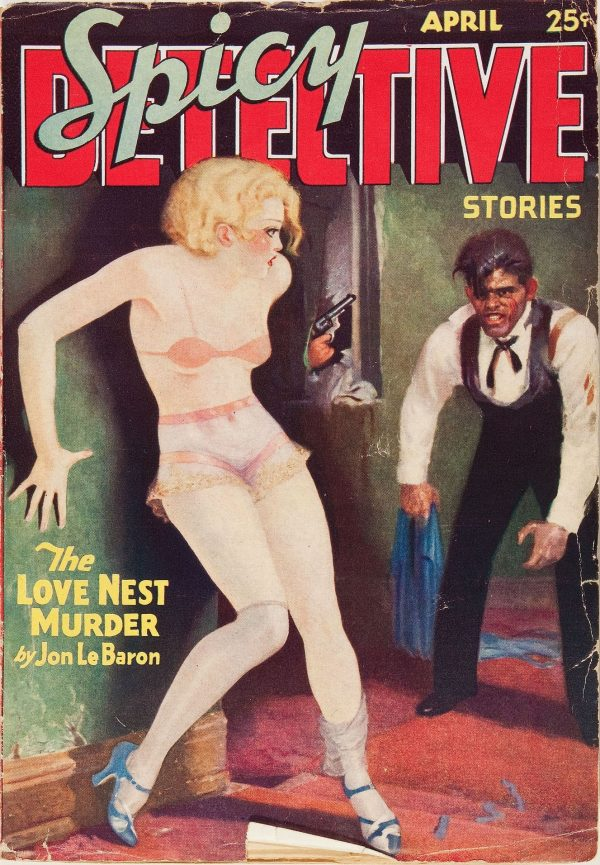 Spicy Detective Stories V1#1 April 1934