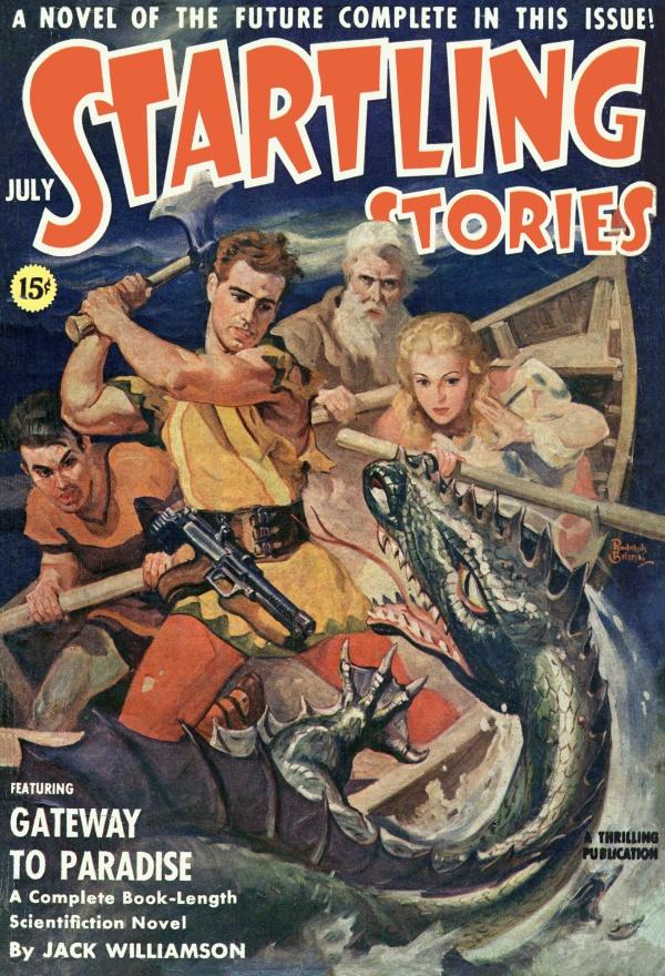 Startling Stories, July 1941