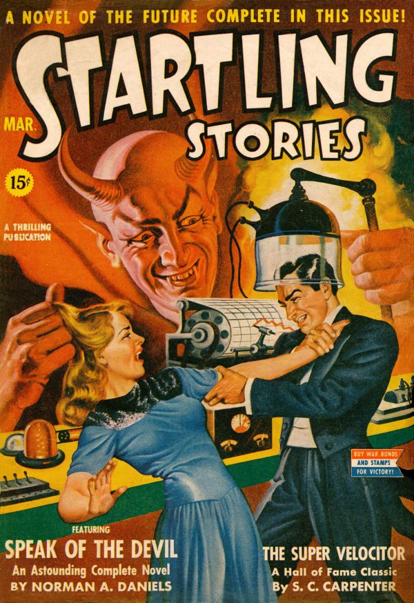 Startling Stories March 1943