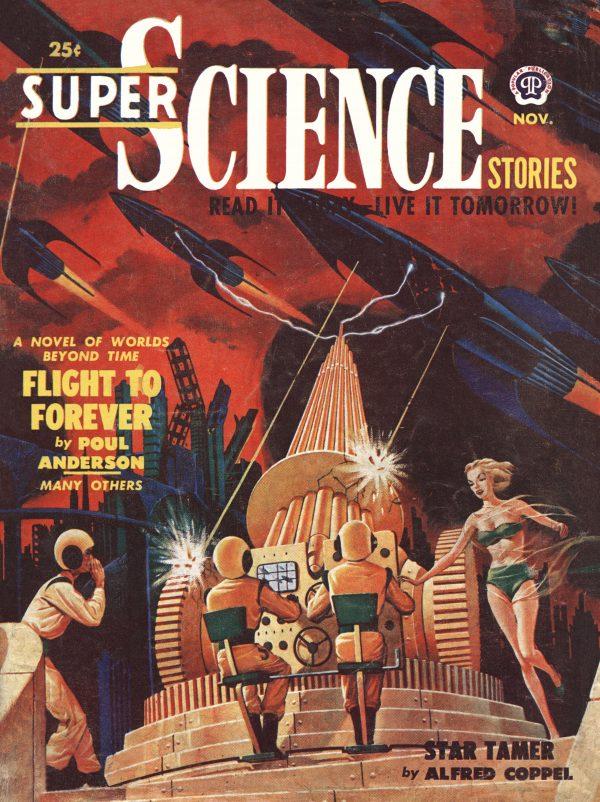 Super Science Stories November 1950