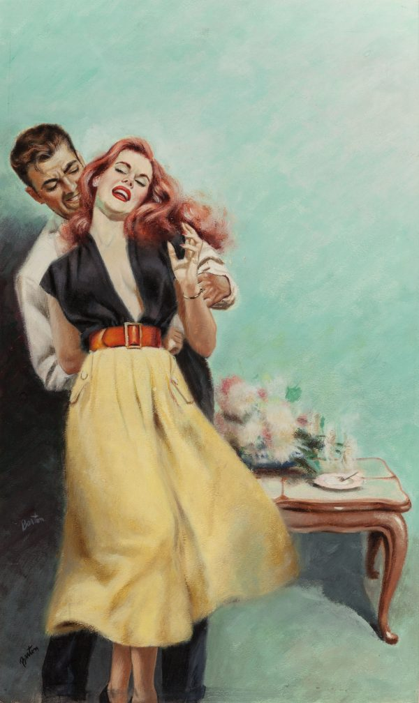 The Fast Buck, paperback cover, 1952
