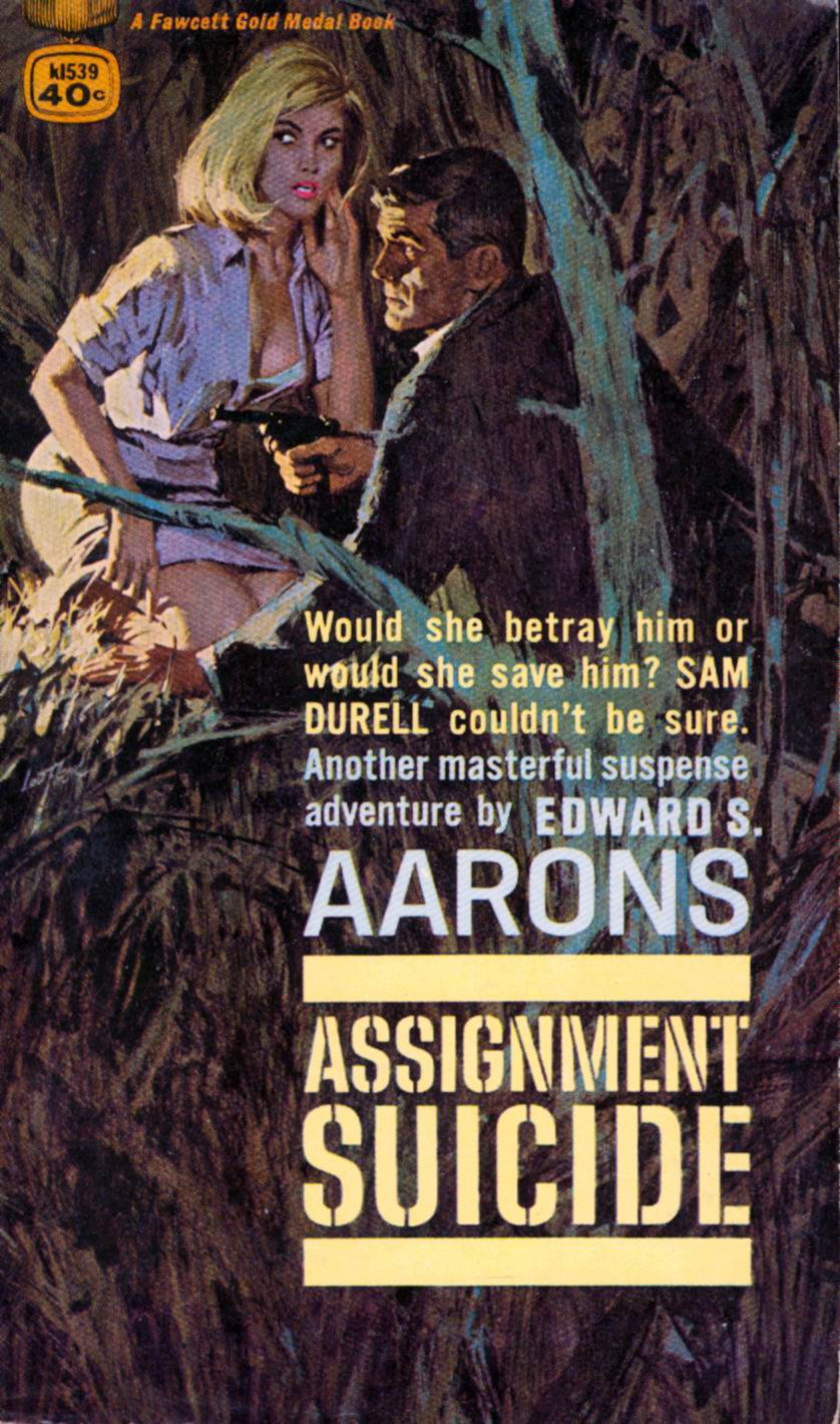 Image result for assignment suicide pulp cover