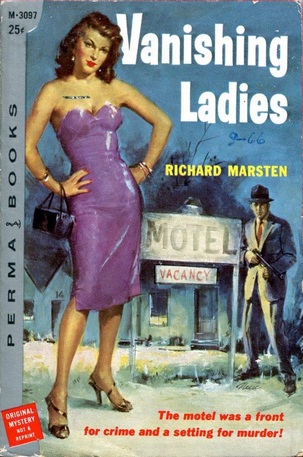 8669375100-The Vanishing Ladies. Permabooks, 1957