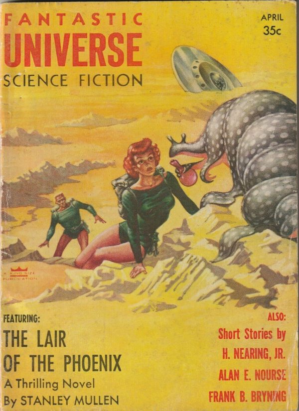 FANTASTIC UNIVERSE - SCIENCE FICTION - APRIL 1956