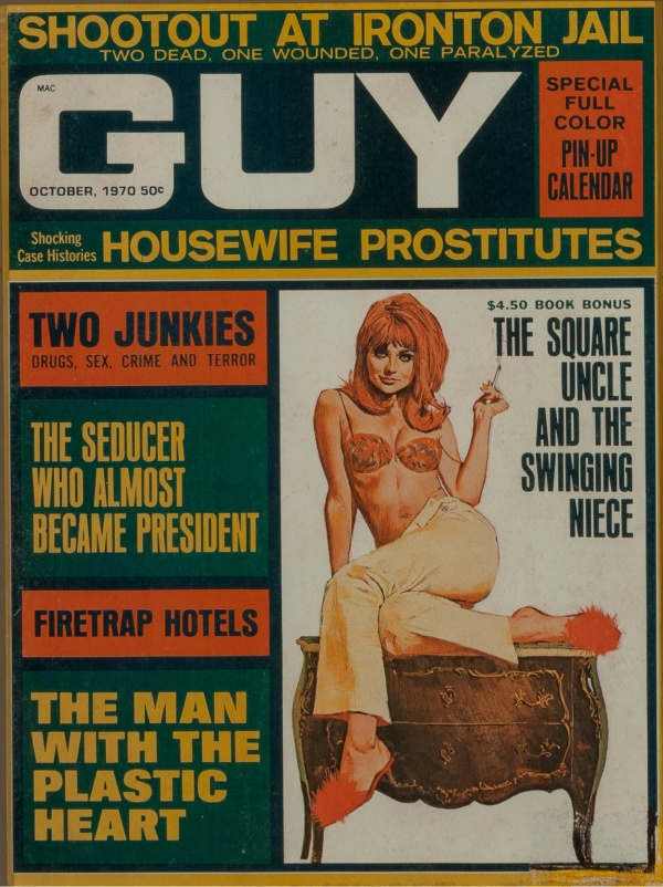Guy magazine October 1970