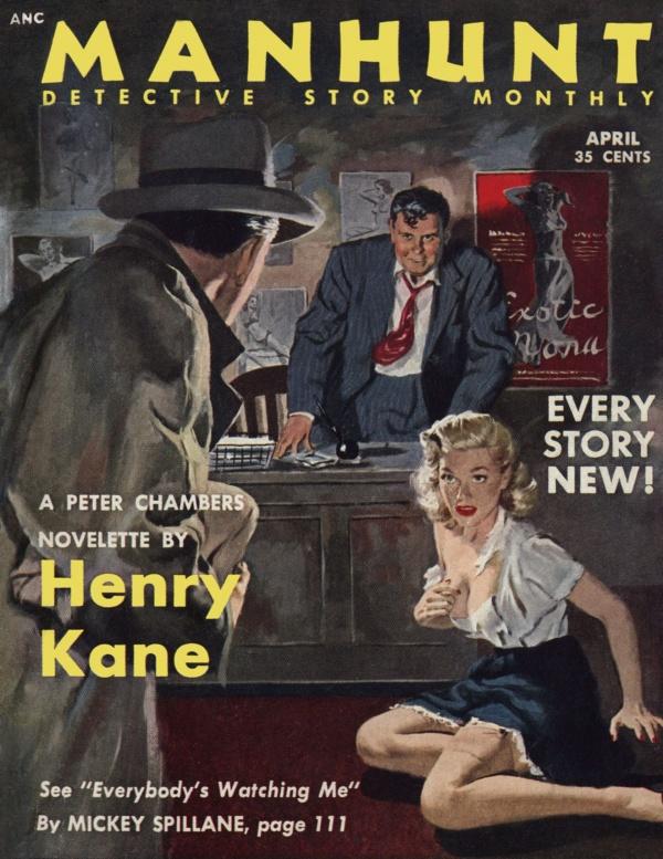 Manhunt April 1953