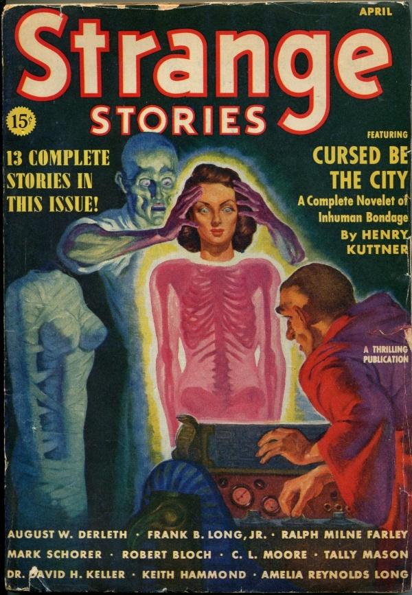 Strange Stories April 1939