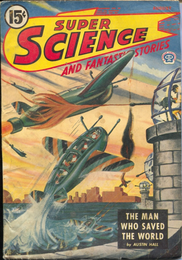 Super Science And Fantastic Stories August 1945