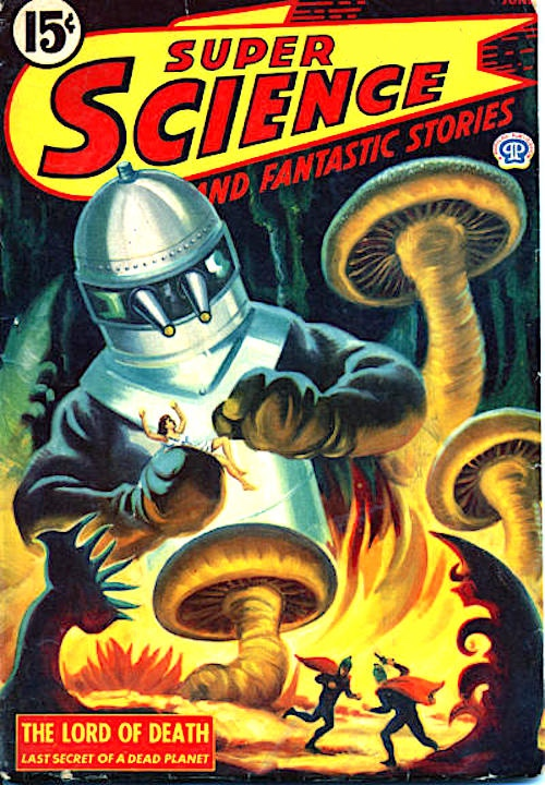 Super Science and Fantastic Stories, June 1945