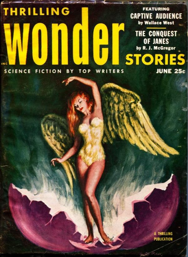 Thrilling Wonder Stories June 1953