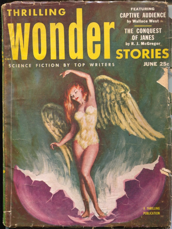 Thrilling Wonder Stories, June 1953