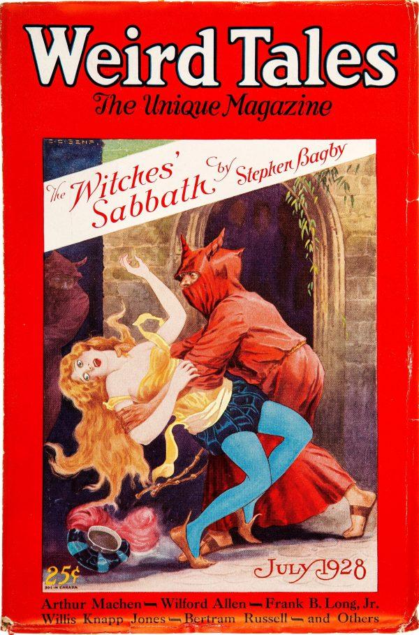 Weird Tales - July 1928