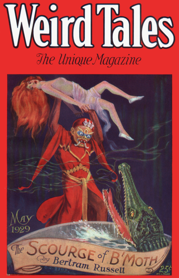 Weird Tales May 1929