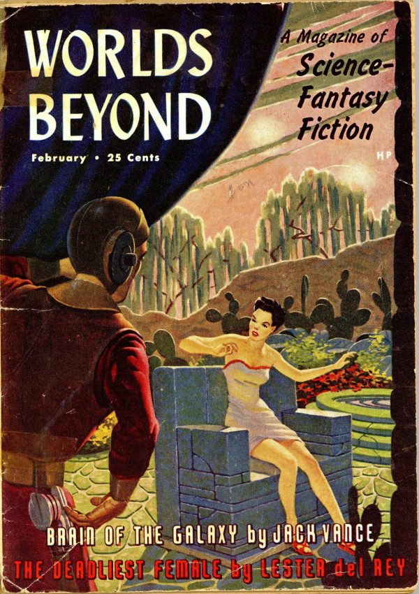 Worlds Beyond February 1951