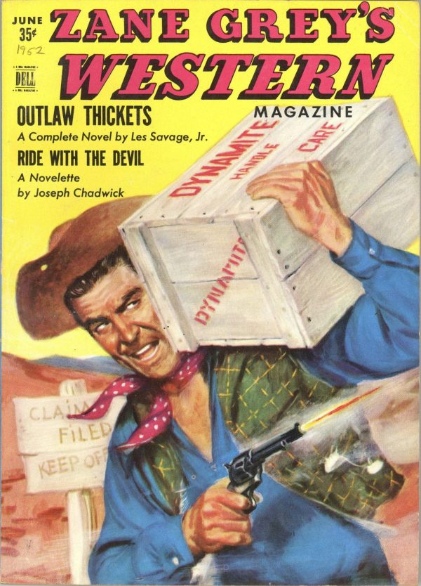Zane Grey's Western Magazine June 1952