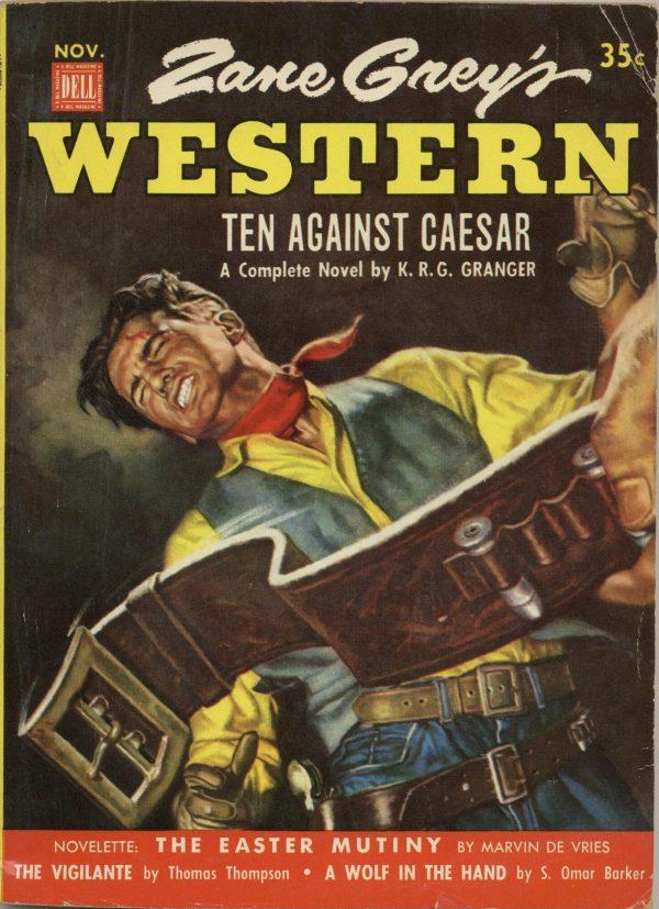 Zane Grey's Western Magazine November 1952