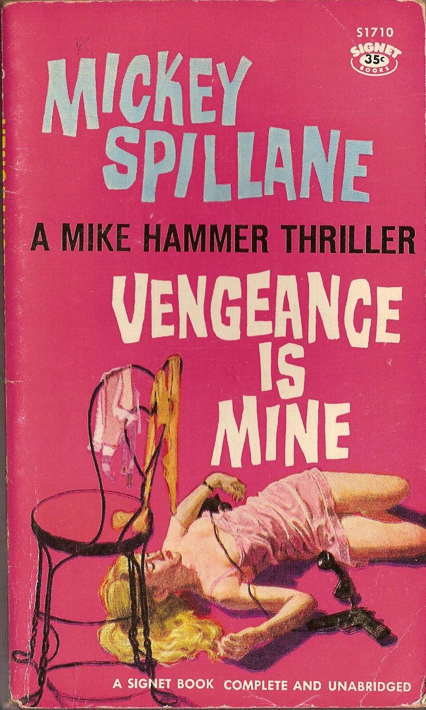 Vengeance Is Mine (1959) – Pulp Covers