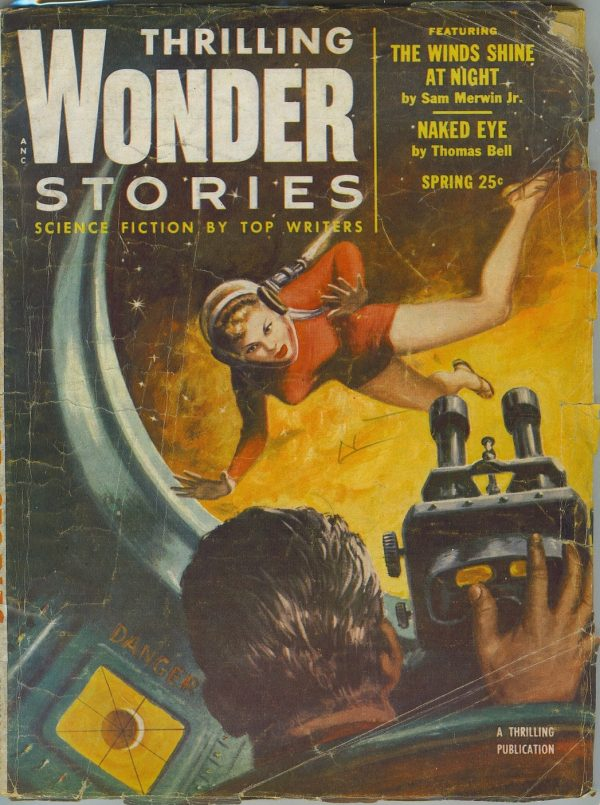 Thrilling Wonder Stories, Spring 1954